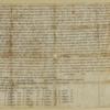 Hyde Abbey Charter, item 12091