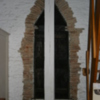 Triangular door frame (interior)
