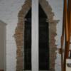 Triangular door frame (interior)