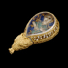 The Alfred Jewel - from oblique angle above