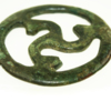 Anglo-Saxon bronze object