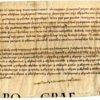 Hyde Abbey Charter, item 12092