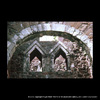 Anglo-Saxon arches in Rougemont Castle gatehouse